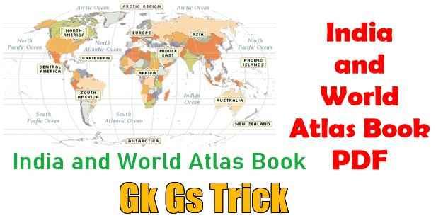 Atlas Map Book PDF in Hindi