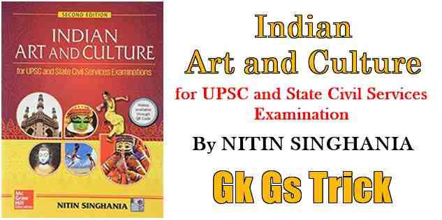 Photo of Indian Art and Culture PDF by Nitin Singhania Book Download