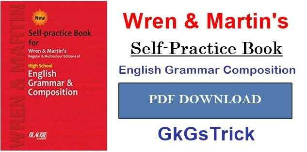Photo of Wren and Martin English Grammar Book PDF Download