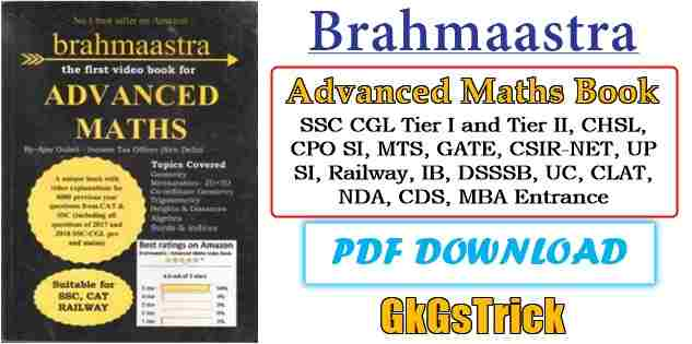 Brahmastra Advanced Maths Book PDF Download