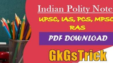 Photo of Indian Polity Notes PDF Download in Hindi and English