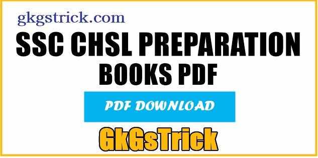 SSC CHSL Book pdf 2021