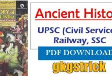 Photo of Ancient History by RS Sharma in Hindi pdf Download