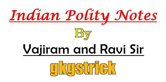 Indian Polity Notes By Vajiram and Ravi pdf