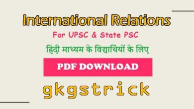 Photo of International Relations Book for UPSC pdf in Hindi