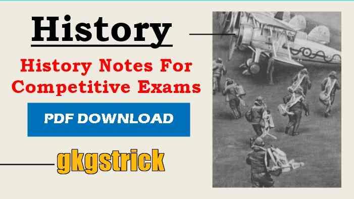 History Notes pdf in Hindi English