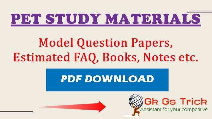 UPSSSC PET Previous Question Papers PDF Download
